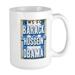 Jews For Barack Obama Large Mug