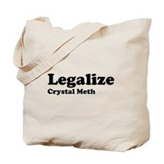 I Love Crystal Meth Tote Bag