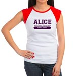 Alice, Quirkier Than You. Women's Cap Sleeve T-Shi