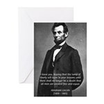 Abraham Lincoln Greeting Cards (Pk of 10)