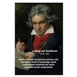 Classical Music: Beethoven Large Poster