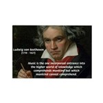 Classical Music: Beethoven Rectangle Magnet (10 pa