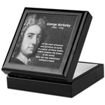 Irish Idealist: George Berkeley Keepsake Box
