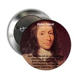 "Mathematician: Blaise Pascal 2.25"" Button (10 pack"