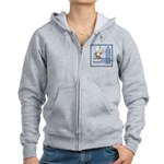 Deco Father of the Groom Women's Zip Hoodie