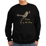 Dance of the Frog Sweatshirt (dark)