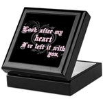 Edward Heart Twilight Keepsake Box