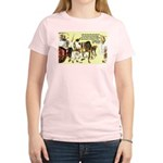 Eastern Thought: Confucius Women's Pink T-Shirt