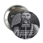 "Eastern Wisdom: Confucius 2.25"" Button (100 pack)"