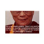 His Holiness the Dalai Lama Rectangle Magnet (100