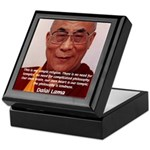 His Holiness the Dalai Lama Keepsake Box
