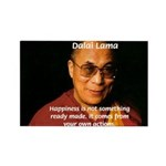 The Dalai Lama Rectangle Magnet (10 pack)