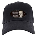 Simone De Beauvoir Black Cap