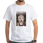 Stoic Philosophy: Zeno White T-Shirt