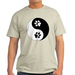 Yin Yang Paws Light T-Shirt