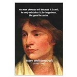 Feminist Mary Wollstonecraft Large Poster