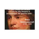 Feminist Mary Wollstonecraft Rectangle Magnet (10