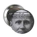 "Philosopher: Alfred Whitehead 2.25"" Button (100 pa"