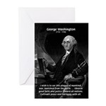 President George Washington Greeting Cards (Packag