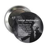 "George Washington 2.25"" Button (100 pack)"