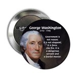 "Politics: George Washington 2.25"" Button (10 pack)"