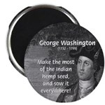 "George Washington 2.25"" Magnet (100 pack)"