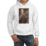 French Philosopher: Voltaire Hooded Sweatshirt