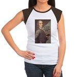 French Philosopher: Voltaire Women's Cap Sleeve T-