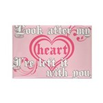Twilight Valentine Heart Rectangle Magnet (100 pac