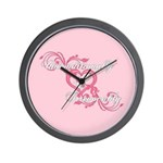 Twilight Irrevocably Valentine Wall Clock
