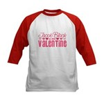 Jacob Twilight Valentine Kids Baseball Jersey