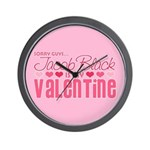 Jacob Black Valentine Wall Clock