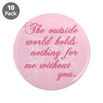 "Twilight Valentine 3.5"" Button (10 pack)"