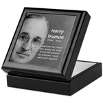 President Harry Truman Keepsake Box