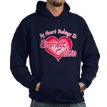 Emmett Cullen Heart Hoodie (dark)