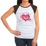 Emmett Cullen Heart Women's Cap Sleeve T-Shirt