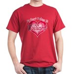 Heart Belongs Twilight Dark T-Shirt