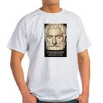 Greek Philosophy: Thales Ash Grey T-Shirt