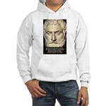 Greek Philosophy: Thales Hooded Sweatshirt
