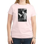 Joseph Stalin Revolution Women's Pink T-Shirt