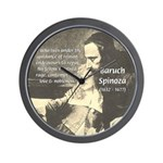 Rationalist Baruch Spinoza Wall Clock