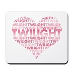 Twilight Heart Mousepad
