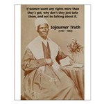 Feminist Sojourner Truth Small Poster
