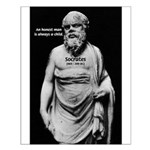 Wisdom of Socrates Small Poster