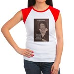 Writer Percy Bysshe Shelley Women's Cap Sleeve T-S