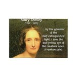 Writer Mary Shelley Rectangle Magnet
