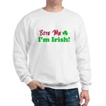 Bite Me I'm Irish Sweatshirt