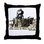 Jefferson Limits On Power Quo Throw Pillow