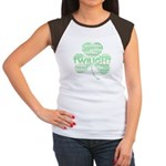 Twilight Shamrock Women's Cap Sleeve T-Shirt