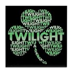 Twilight Shamrock Tile Coaster